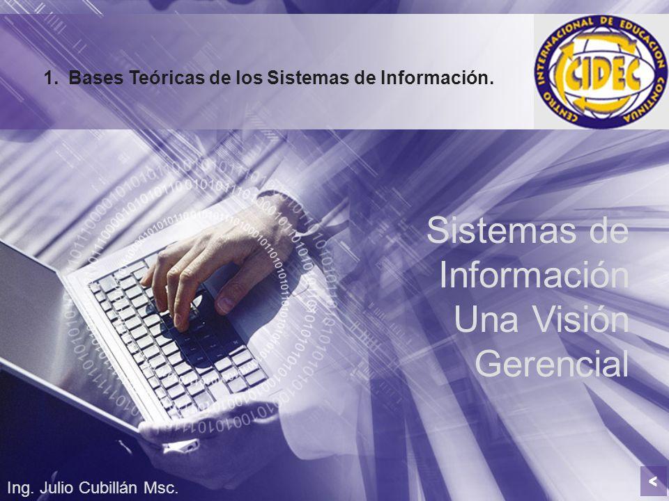 Sistemas de Información Una Visión Gerencial