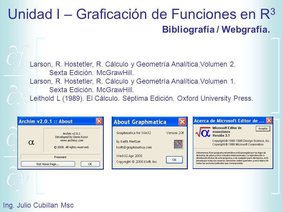 Bibliografía / Webgrafía.