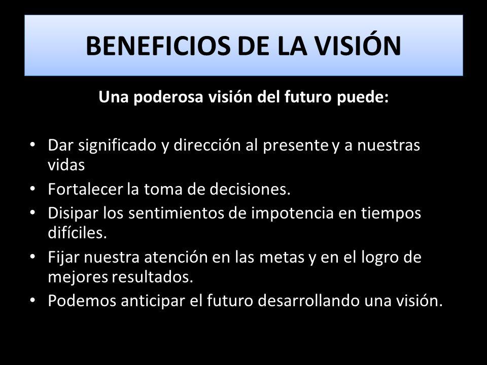 BENEFICIOS DE LA VISIÓN