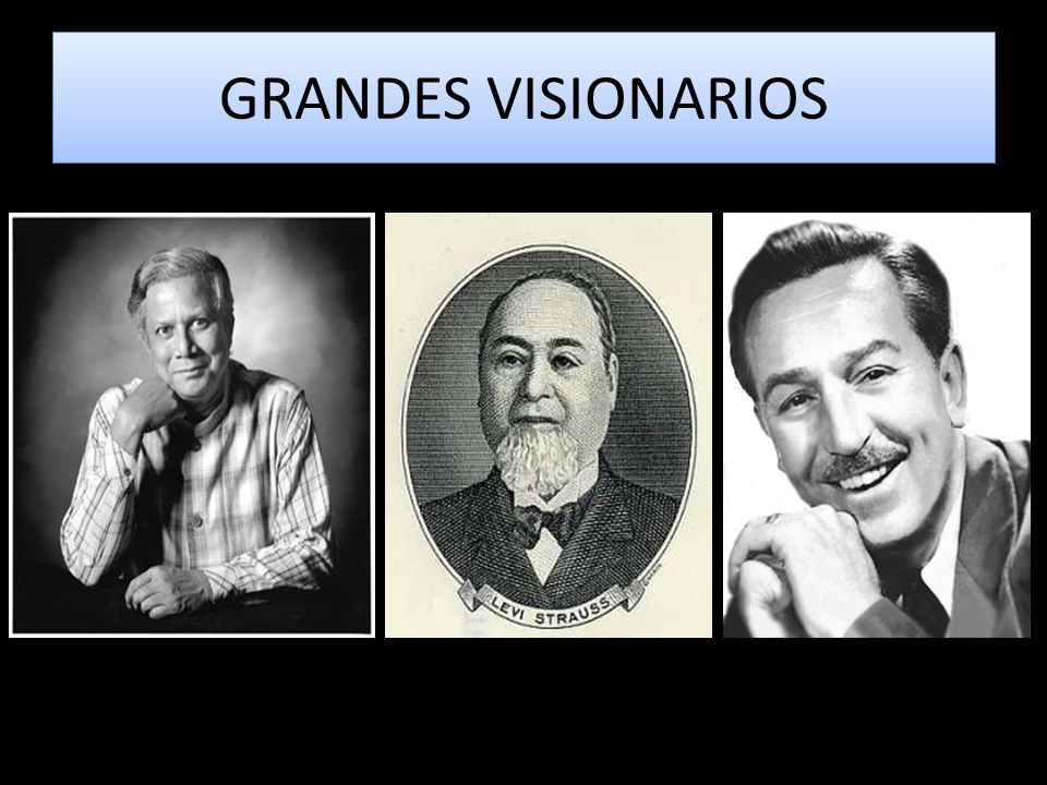 GRANDES VISIONARIOS