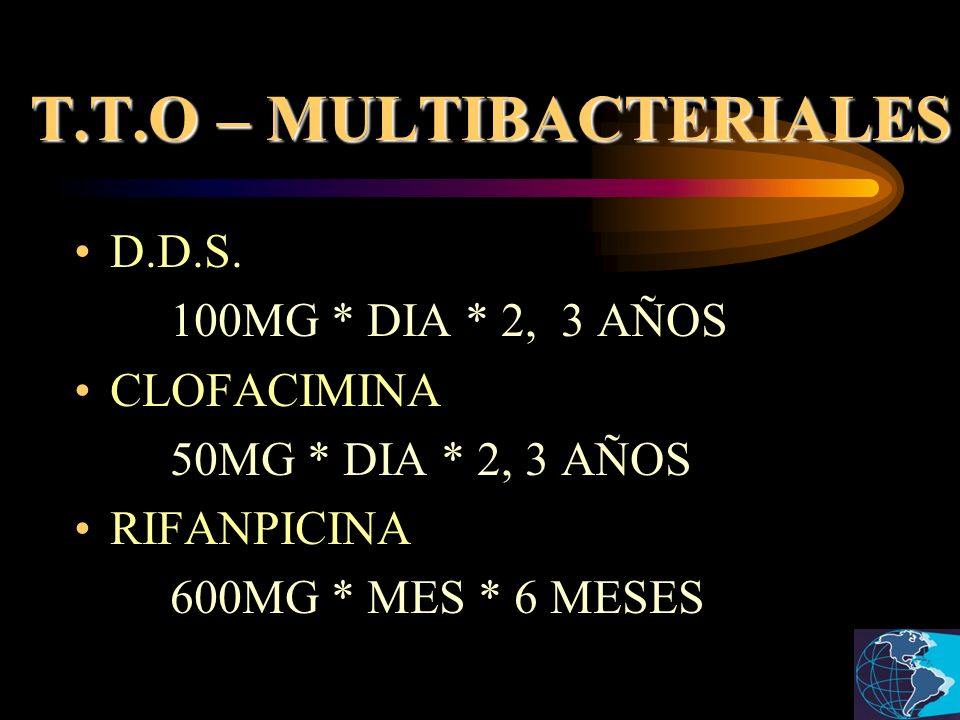 T.T.O – MULTIBACTERIALES