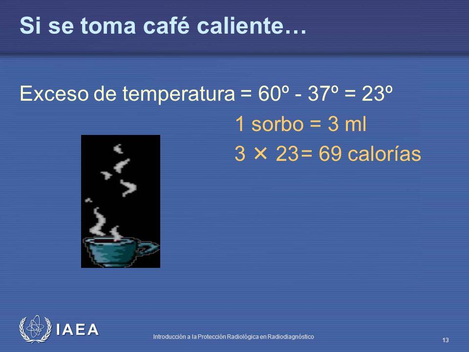 Si se toma café caliente…