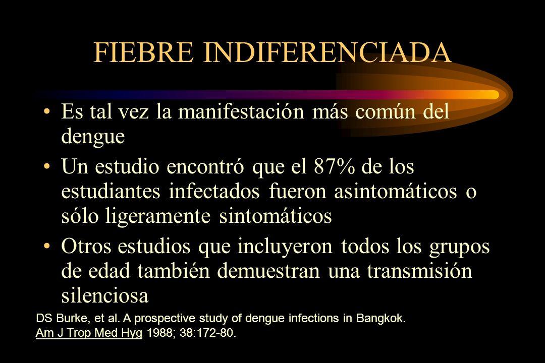 FIEBRE INDIFERENCIADA