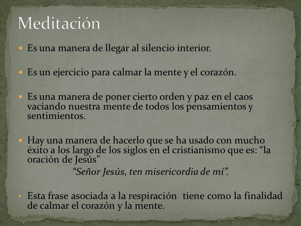 Señor Jesús, ten misericordia de mí .