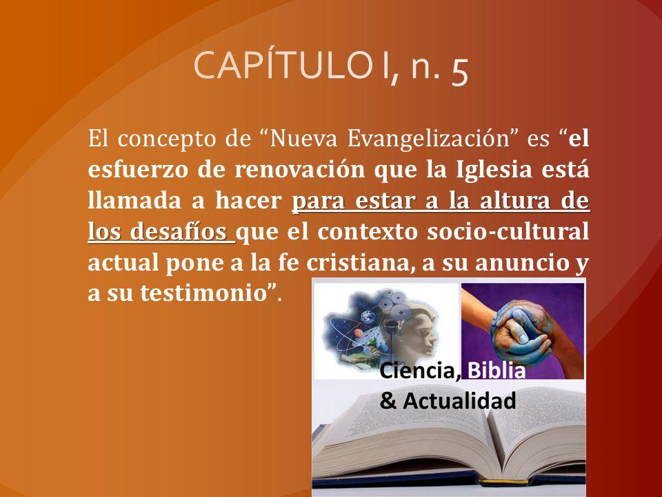 CAPÍTULO I, n. 5