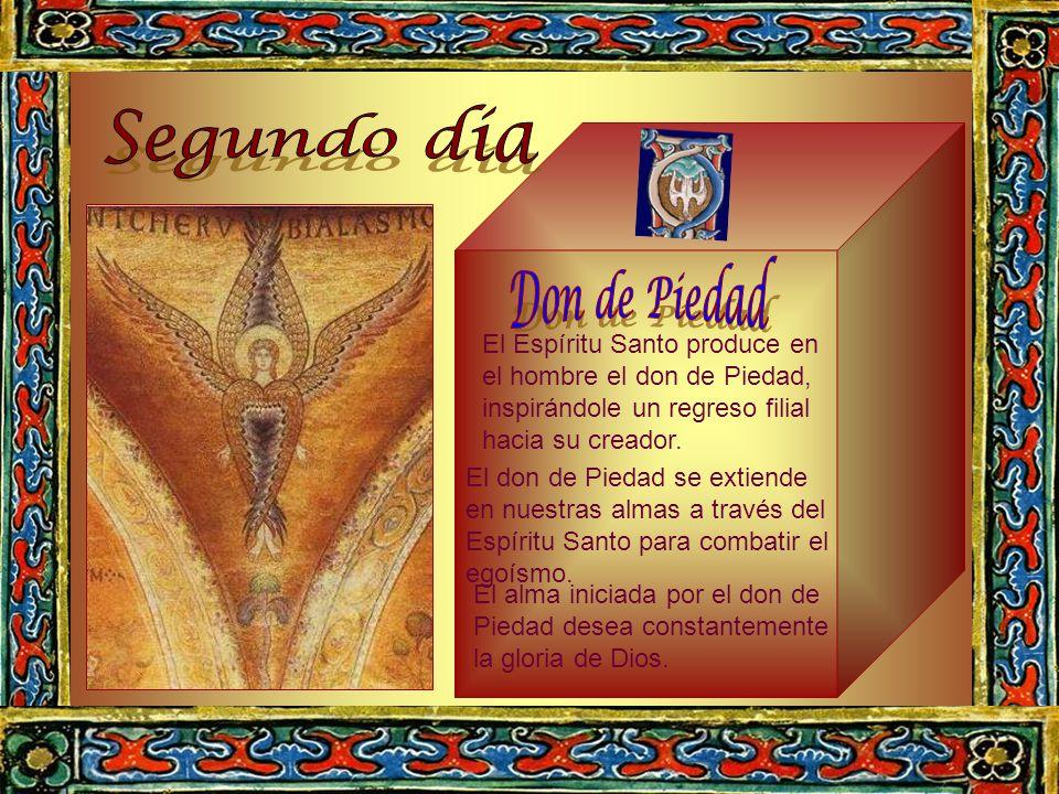 Segundo día Don de Piedad El Espíritu Santo produce en