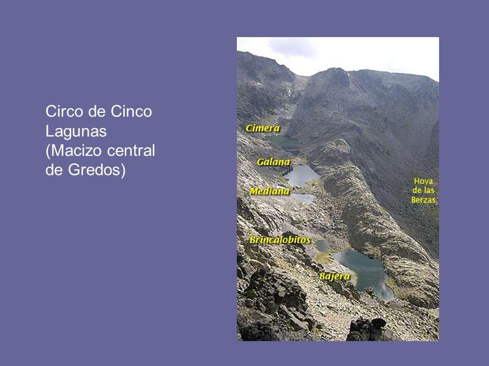 Circo de Cinco Lagunas (Macizo central de Gredos)
