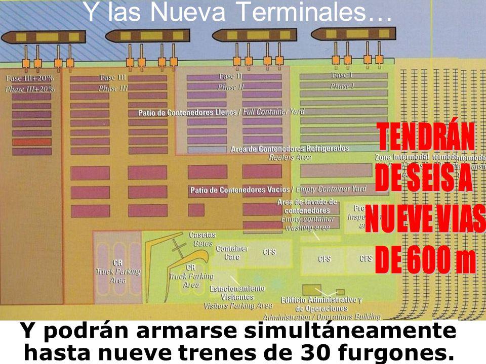 Y las Nueva Terminales…