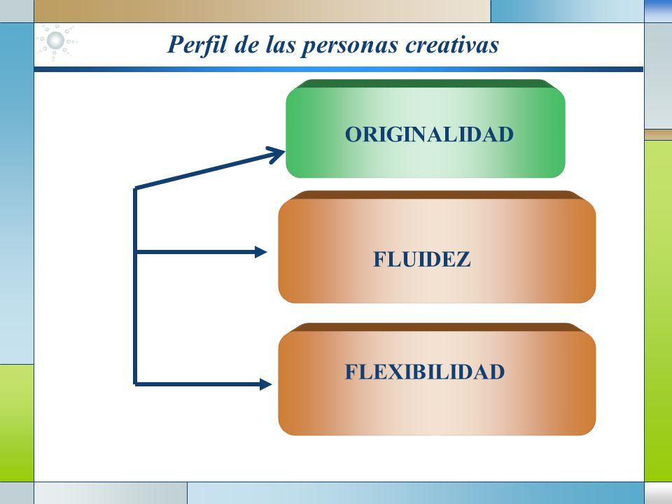 Perfil de las personas creativas