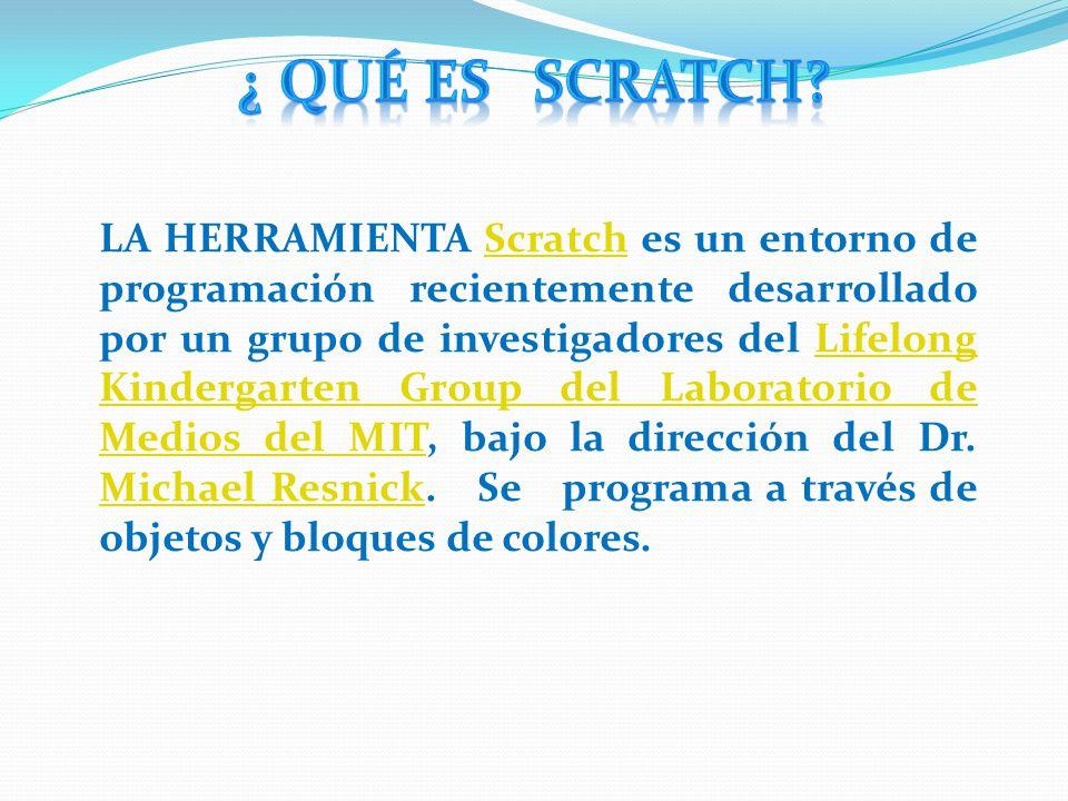 ¿ Qué es Scratch