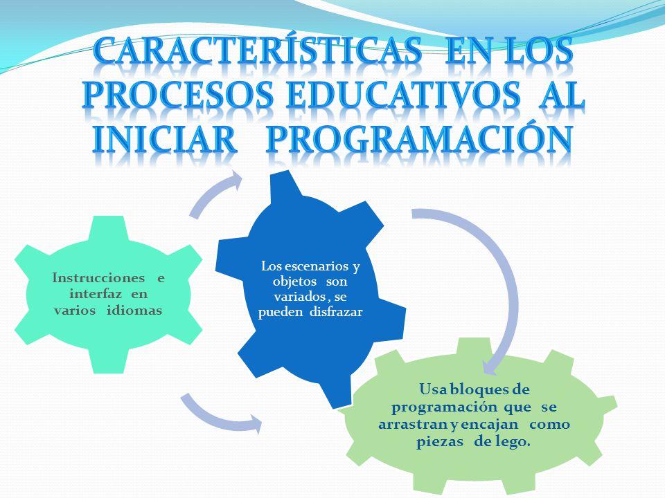 Características en los procesos educativos al iniciar programación