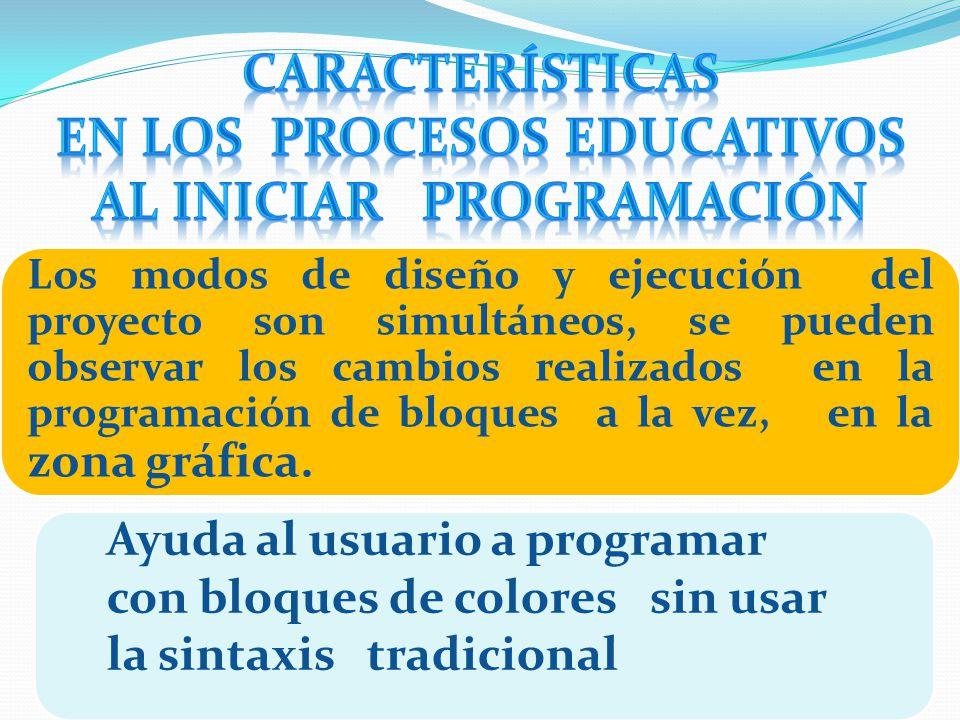 en los procesos educativos al iniciar programación