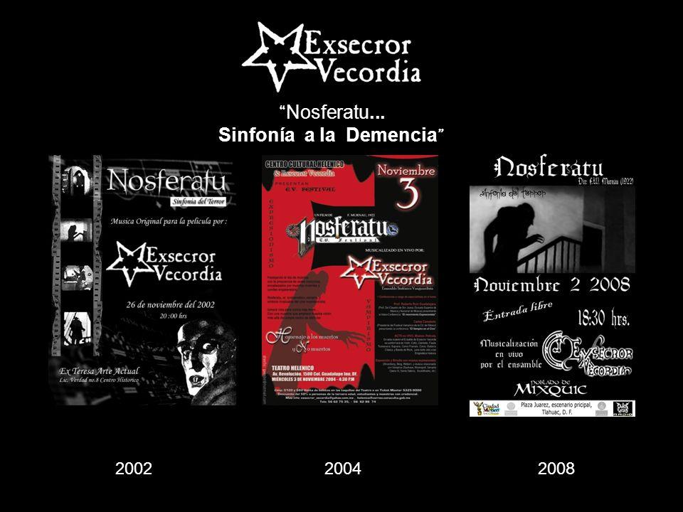 Nosferatu... Sinfonía a la Demencia