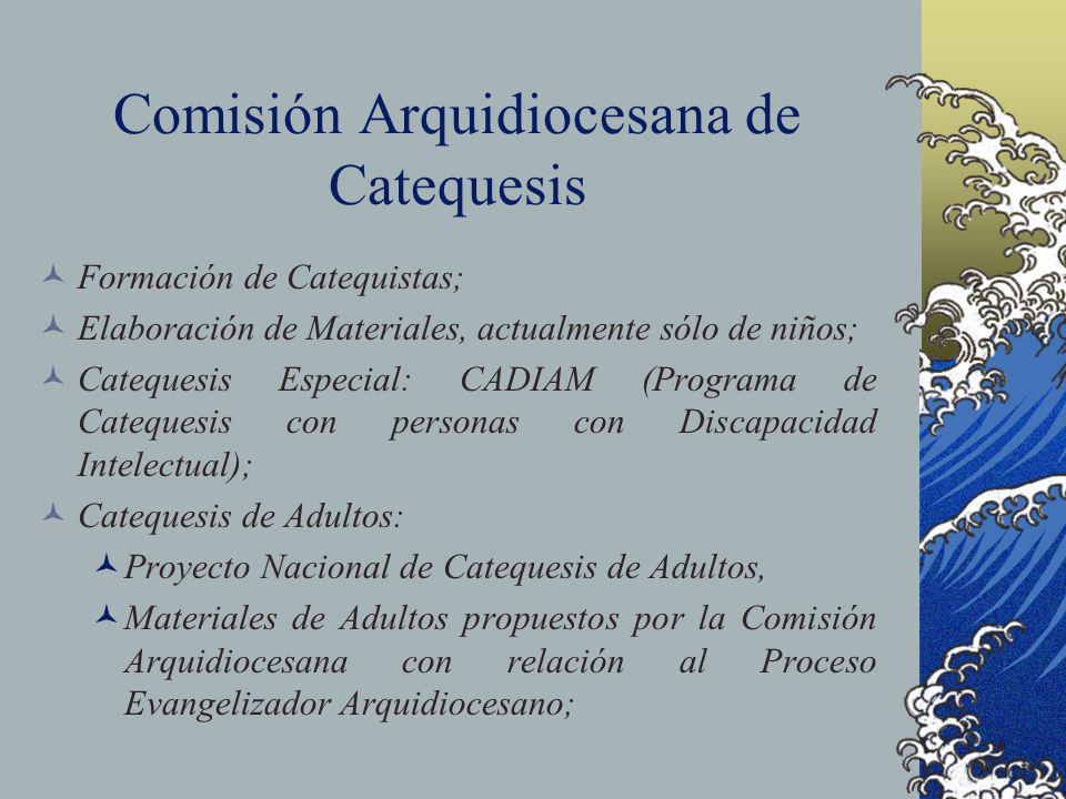 Comisión Arquidiocesana de Catequesis