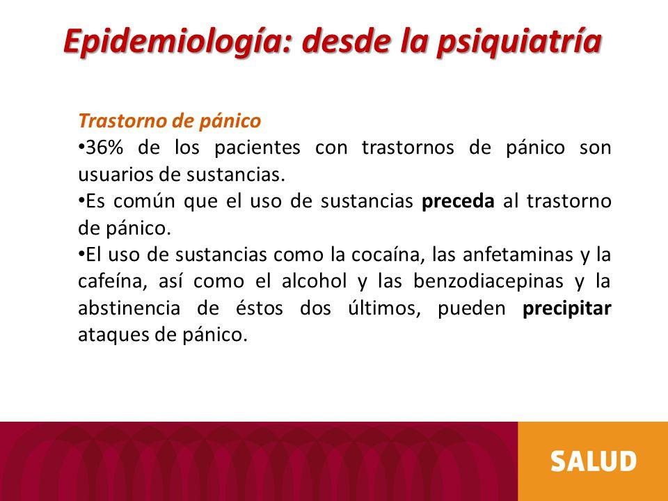 Epidemiología: desde la psiquiatría