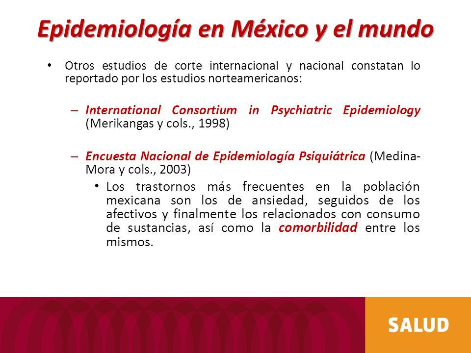 Epidemiología en México y el mundo
