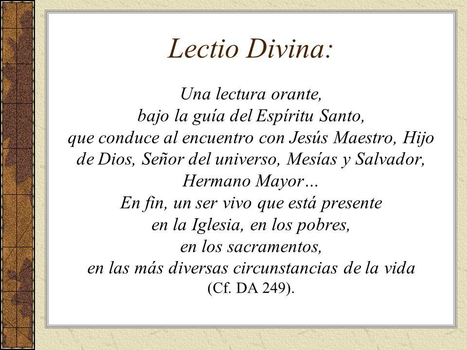 Lectio Divina: