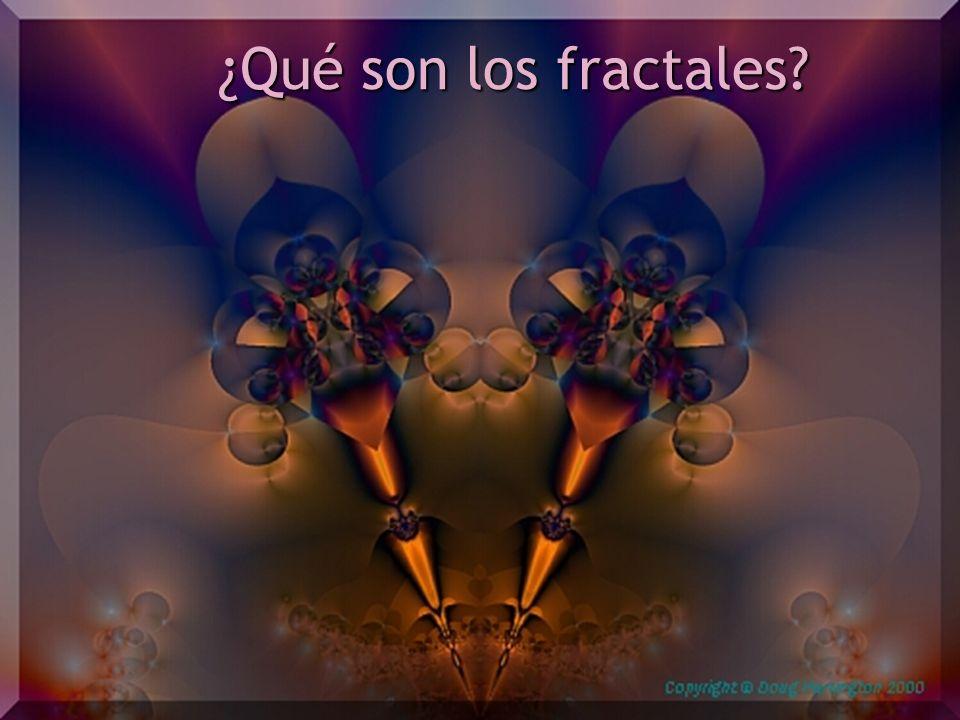 ¿Qué son los fractales