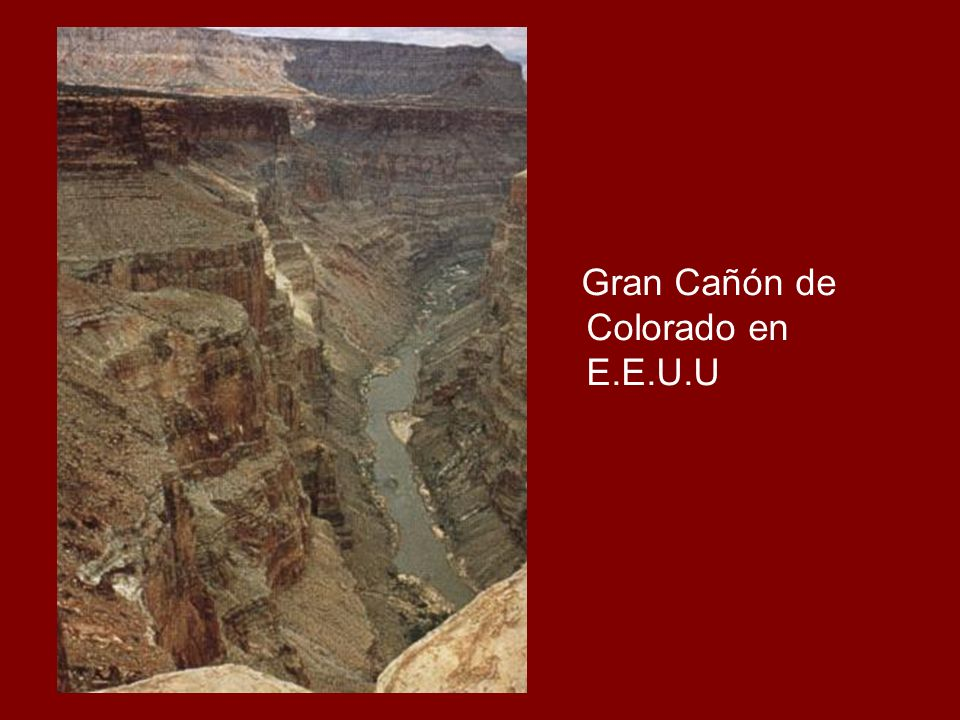 Gran Cañón de Colorado en E.E.U.U