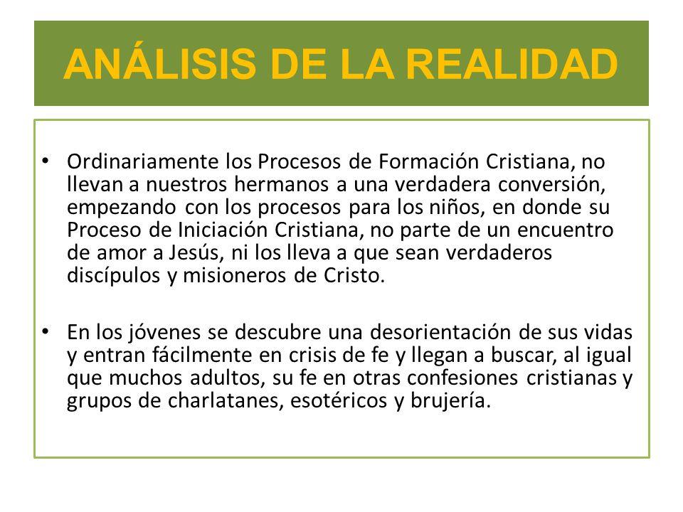 ANÁLISIS DE LA REALIDAD