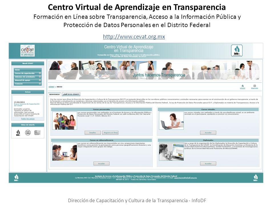 Centro Virtual de Aprendizaje en Transparencia