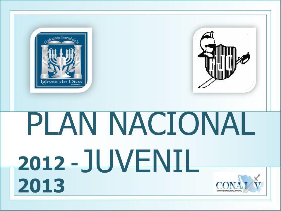 PLAN NACIONAL JUVENIL 2012 - 2013