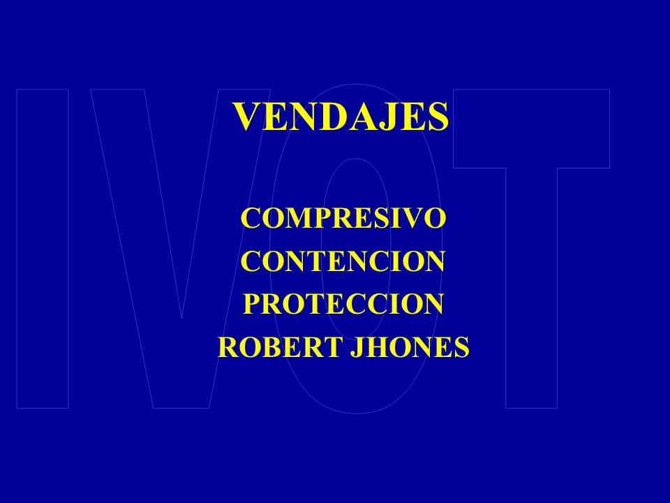 COMPRESIVO CONTENCION PROTECCION ROBERT JHONES