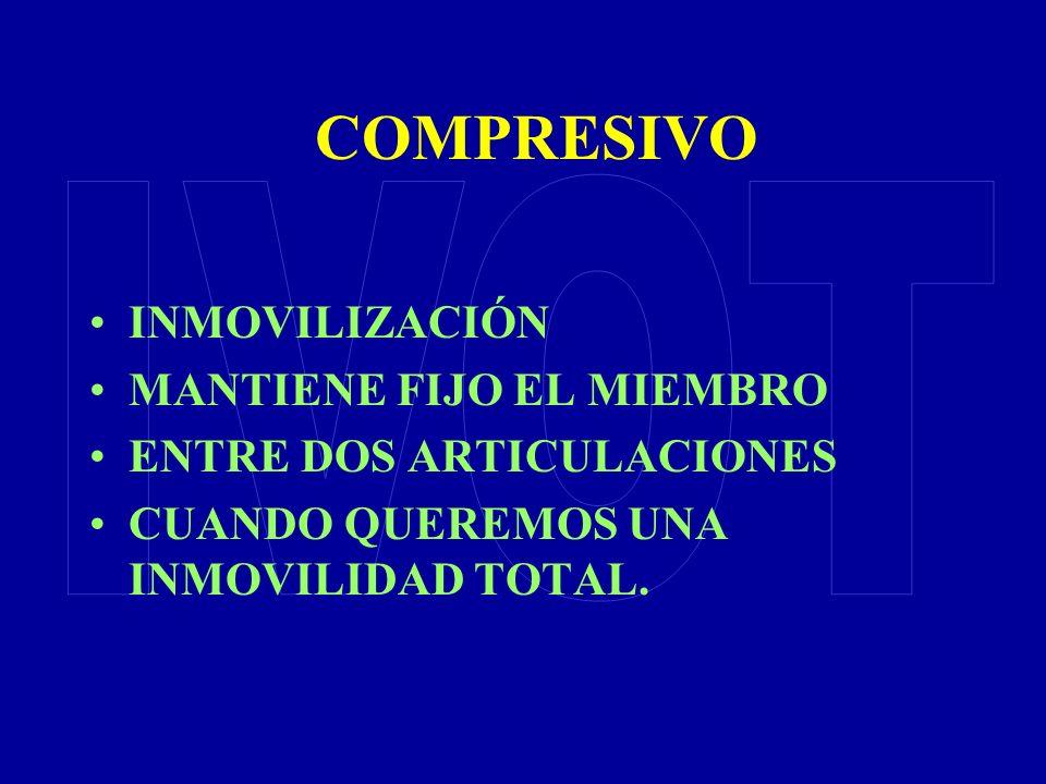 COMPRESIVO IVOT INMOVILIZACIÓN MANTIENE FIJO EL MIEMBRO