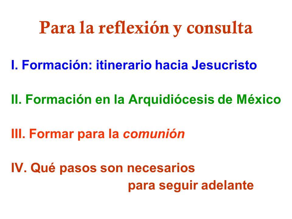 Para la reflexión y consulta
