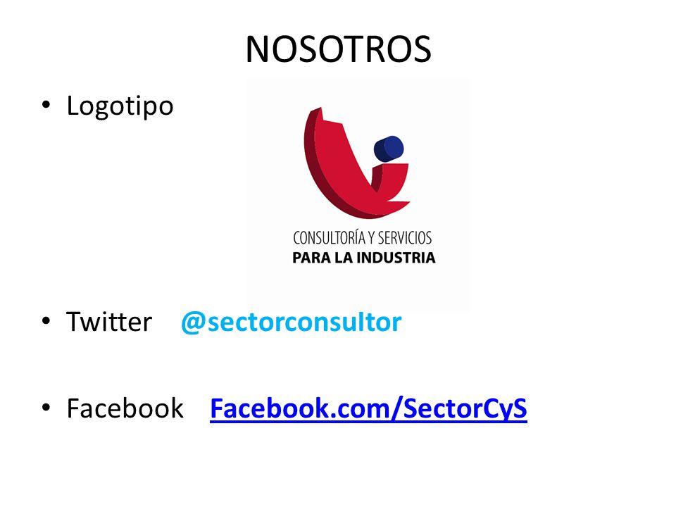 NOSOTROS Logotipo Twitter @sectorconsultor