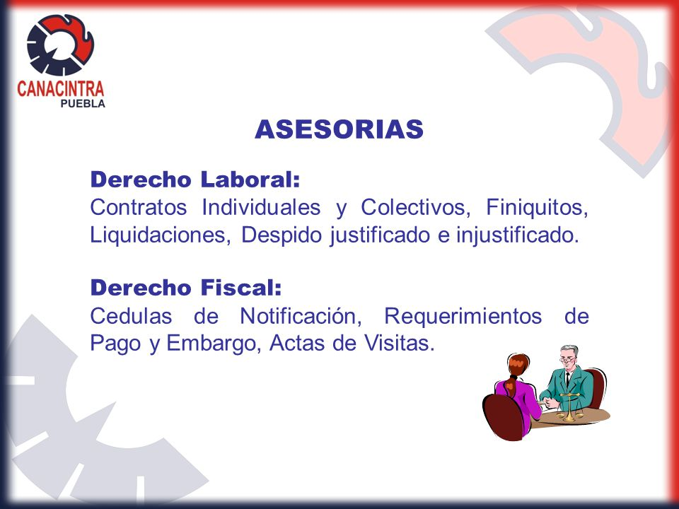 ASESORIAS Derecho Laboral: