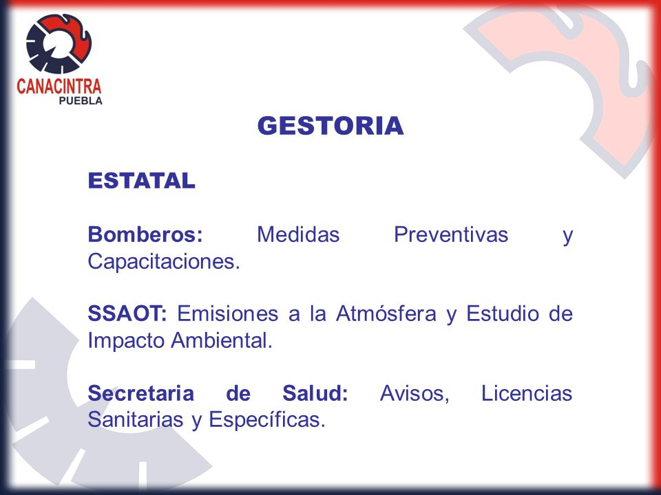 GESTORIA ESTATAL Bomberos: Medidas Preventivas y Capacitaciones.
