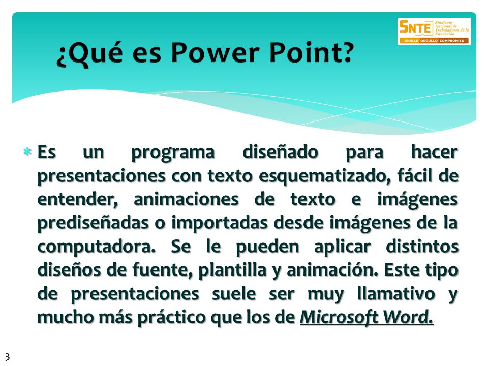¿Qué es Power Point