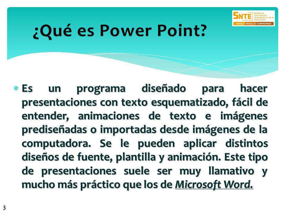 ¿Qué es Power Point