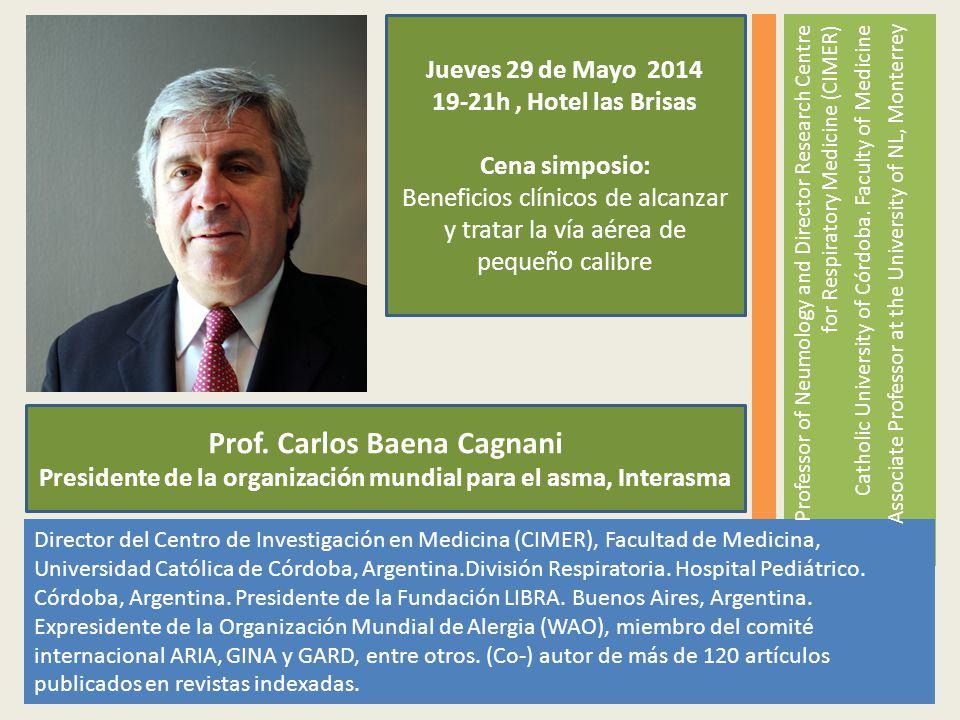 Prof. Carlos Baena Cagnani