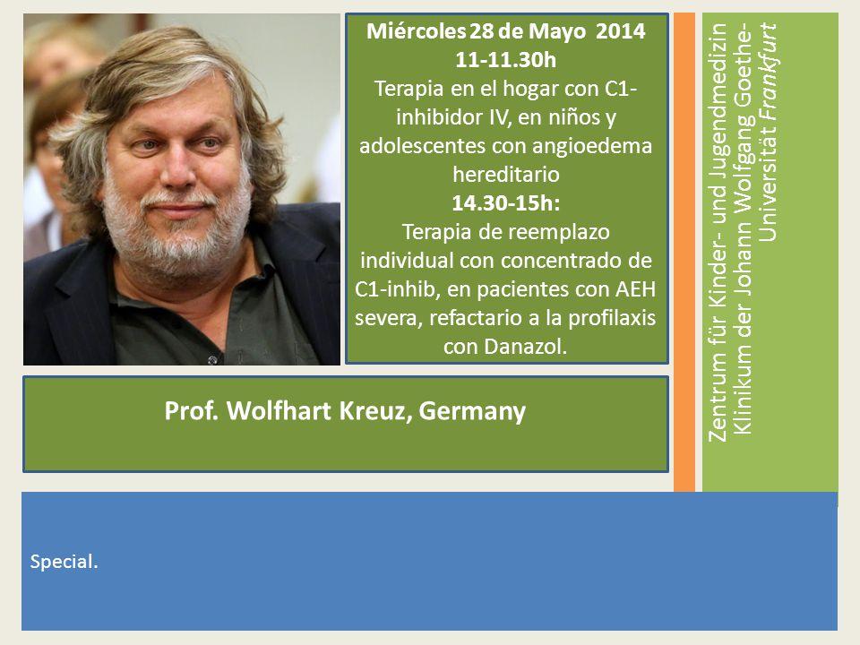 Prof. Wolfhart Kreuz, Germany
