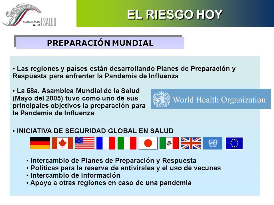 EL RIESGO HOY PREPARACIÓN MUNDIAL