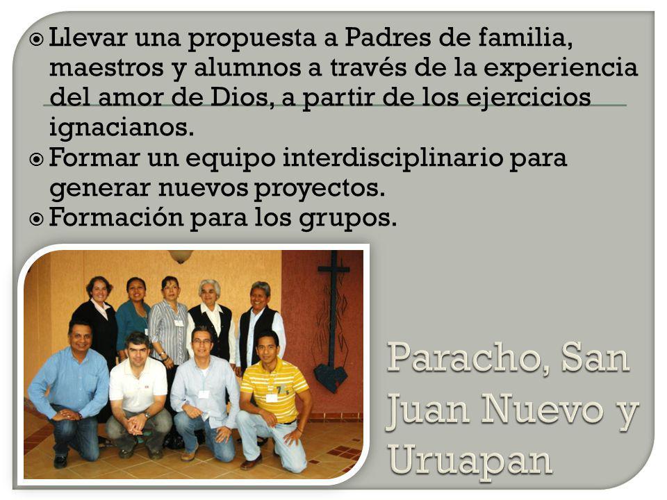 Paracho, San Juan Nuevo y Uruapan