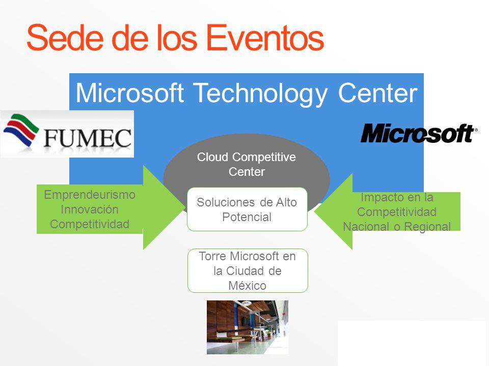 Sede de los Eventos Microsoft Technology Center