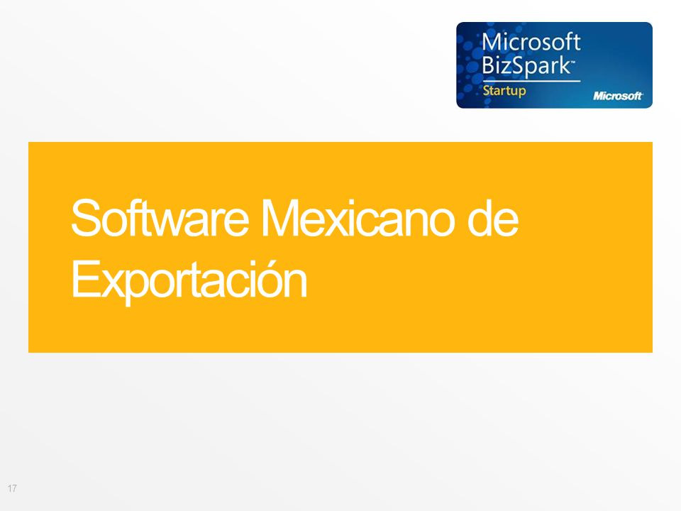 Software Mexicano de Exportación