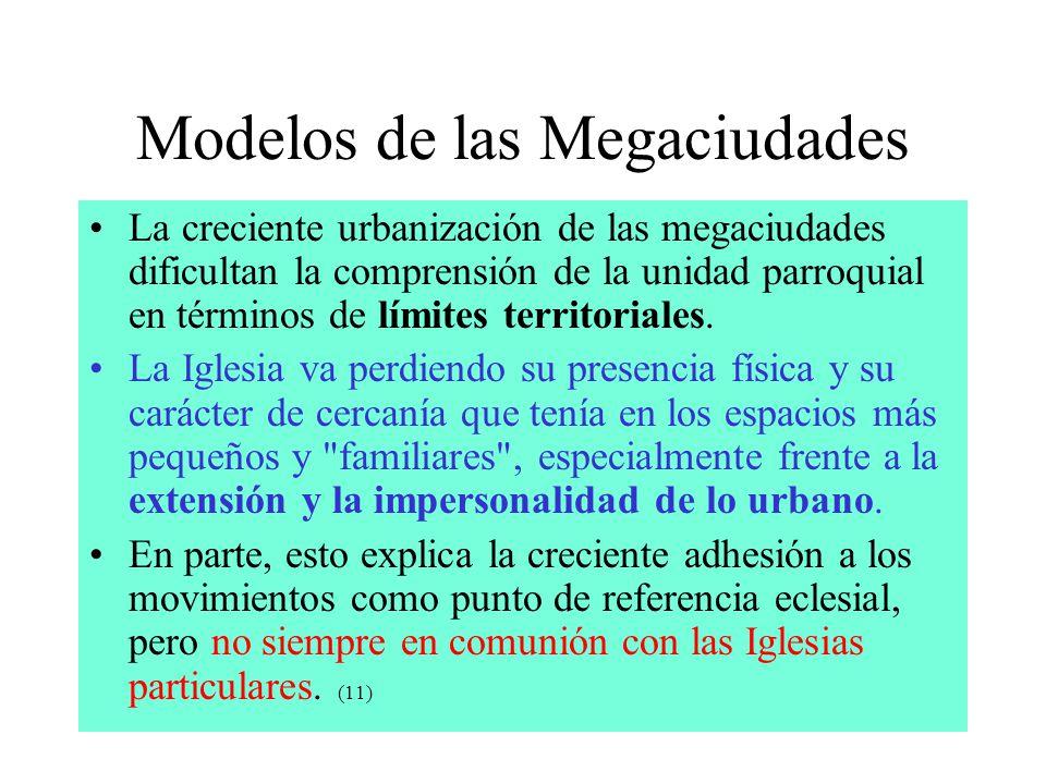 Modelos de las Megaciudades