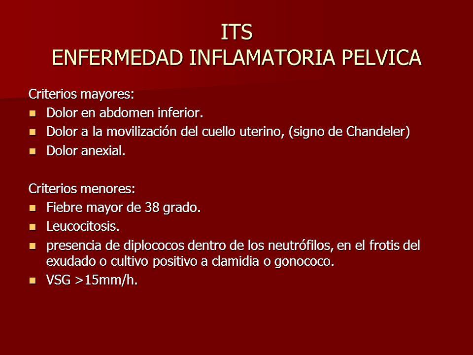 ITS ENFERMEDAD INFLAMATORIA PELVICA