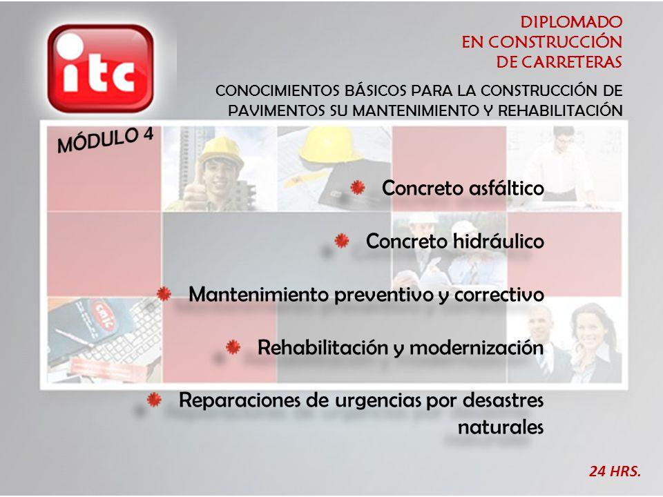 Mantenimiento preventivo y correctivo Rehabilitación y modernización