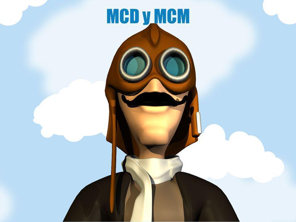 MCD y MCM