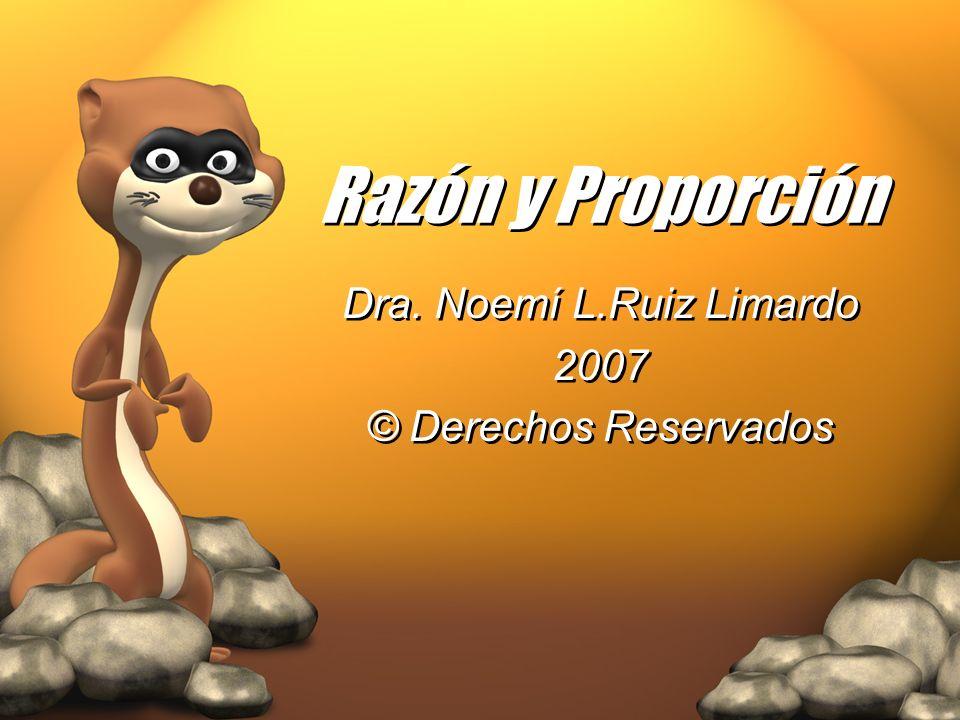 Dra. Noemí L.Ruiz Limardo 2007 © Derechos Reservados
