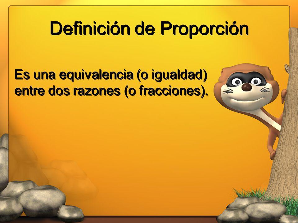Definición de Proporción