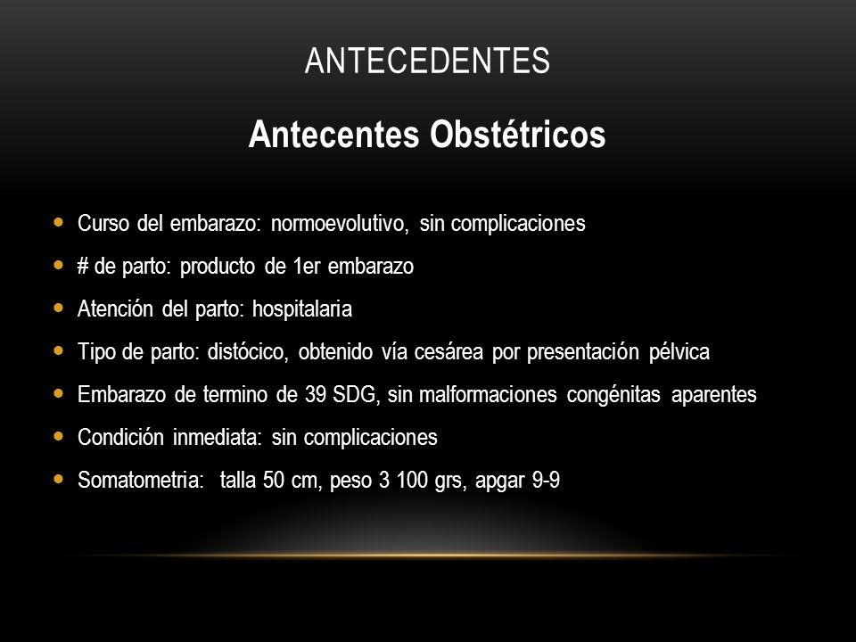 Antecentes Obstétricos