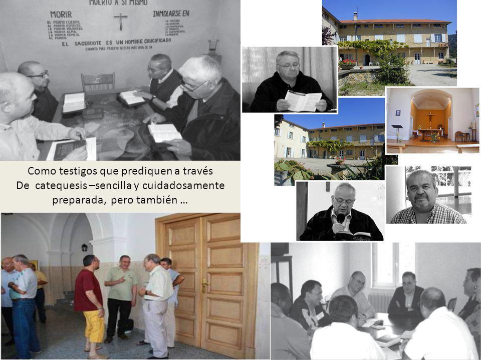 Como testigos que prediquen a través