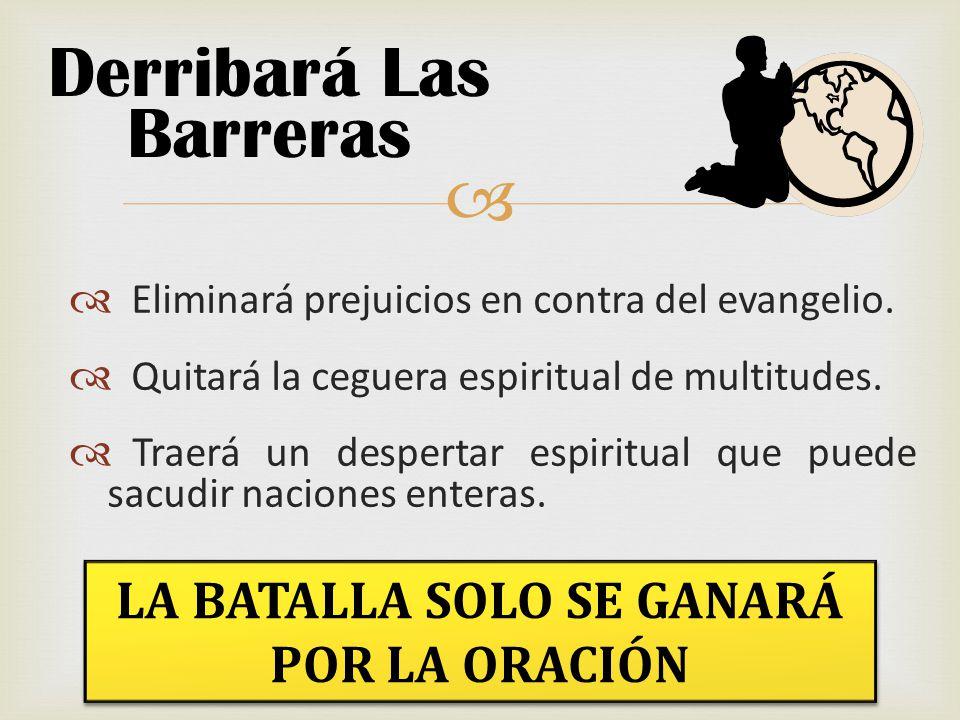 Derribará Las Barreras