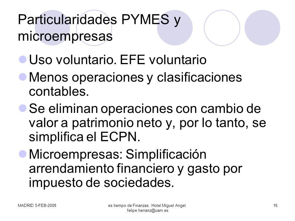 Particularidades PYMES y microempresas